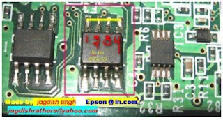 Reset Epson T50 and T60 Without Error 21000068