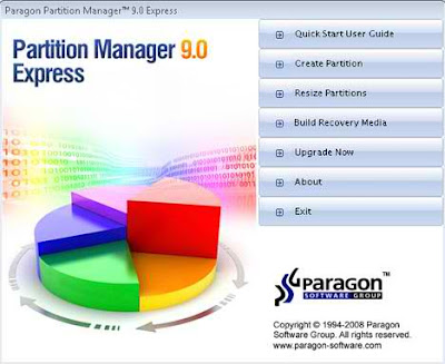 Paragon Partition Manager Express