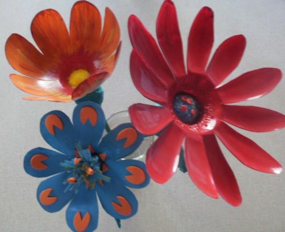 Manualidades De Flores Con Botellas Plasticas