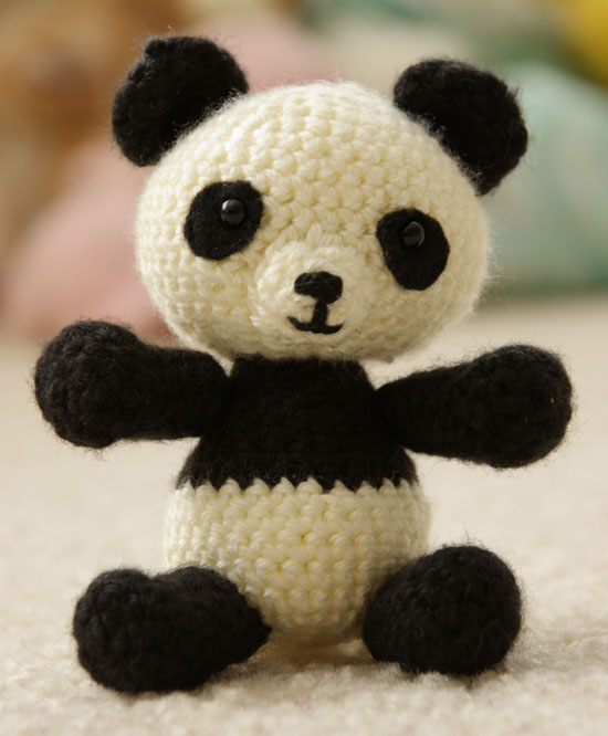 Panda Bear Crochet Pattern