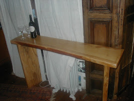 Indoor furniture hall table