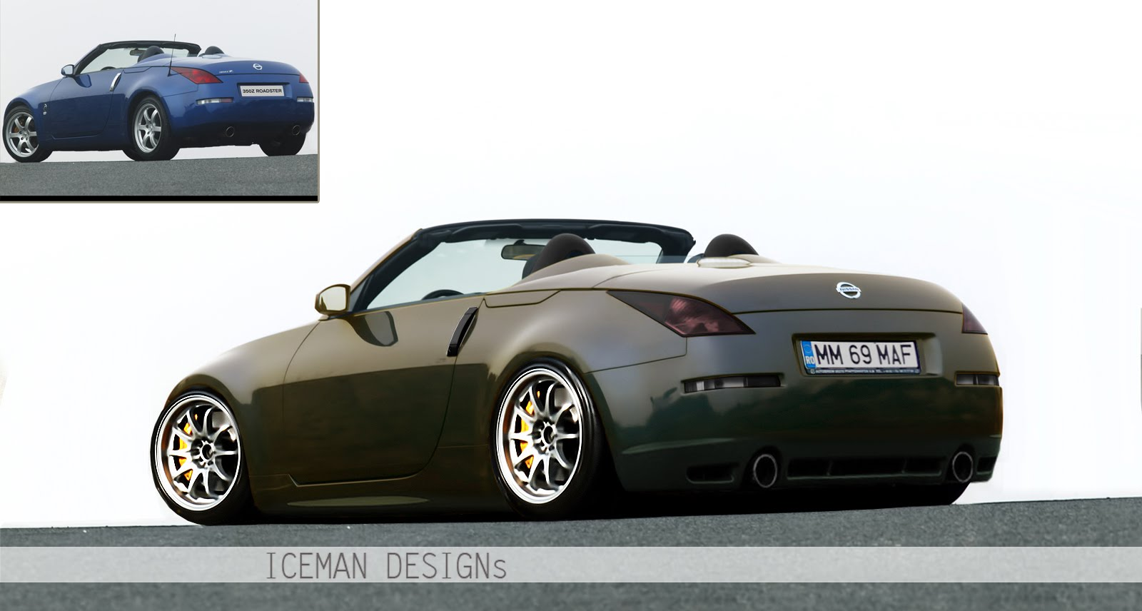 icemangraphics nissan 350z cabrio by iceman