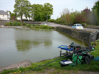 Fishing ken 39 s angling log 24 04 09 winterbourne duck pond for Pond fish wanted