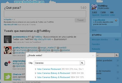 Twitter Places Captura 09