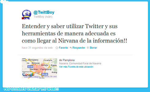 Nirvana twittero