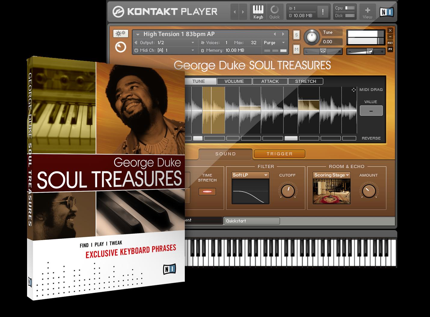 0RGan1c: Native Instruments George Duke Soul Treasure Update 1.2.0 KONTAKT Mac/PC screenshot