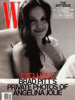 angelina's the november issue of W magazine photo