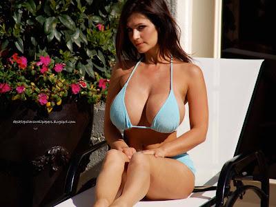 Variant Denise milani hot bikini amusing