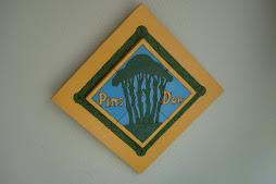 Reproducció del original, realitzat per l'Alfonso 27/03/1997 pirogravat a la fusta.