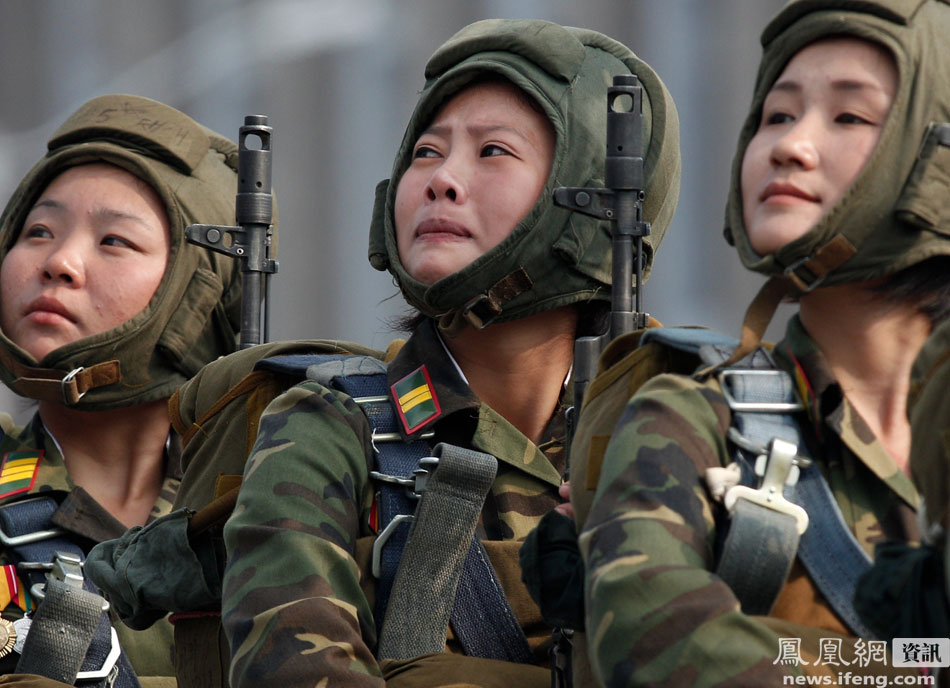 north korean army girls. Re: North Korean Largest