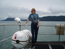 "Sharon In Alaska thinking ""We can do this!"""
