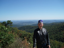 sharon on skyline drive