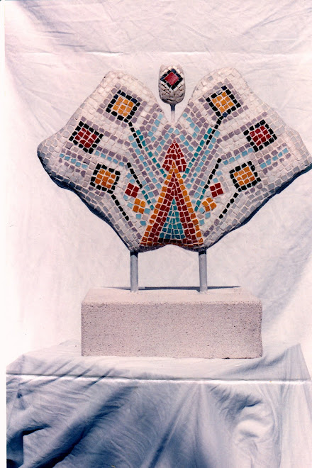 Monique DI CARO -Sculpture-mosaique