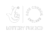 Supported by the National Lottery through Arts Council England