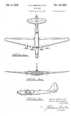 XB-19 3-view