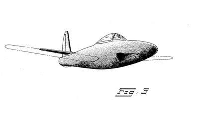F-84 Thunderjet with alternative NACA style inlets