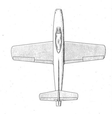 Republic F-84 Thunderjet plans