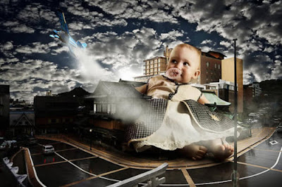 El ataque de los niños gigantes
