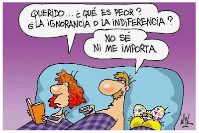 Ignorancia o Indeferencia