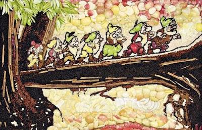 Blanca Nieves contada con manzanas