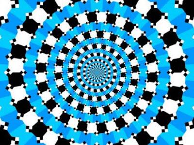 La ilusión óptica del espiral