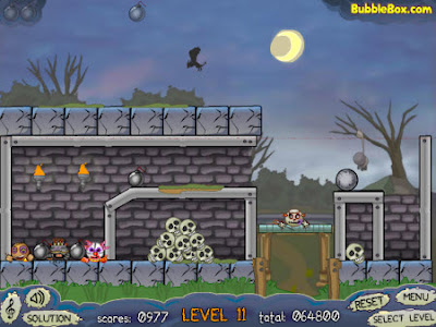 Roly-Poly Monsters: Matando monstruos por diversión!
