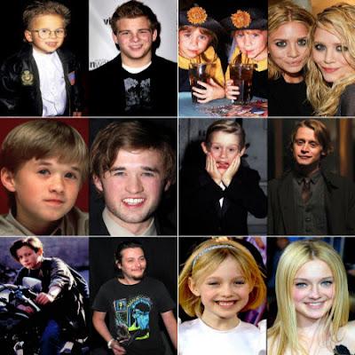 Niños famosos: antes y ahora