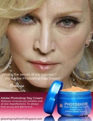 Photoshop: Nueva crema antiarrugas