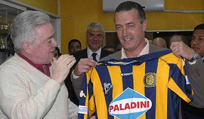 Usandizága junto al exDT Gustavo Alfaro