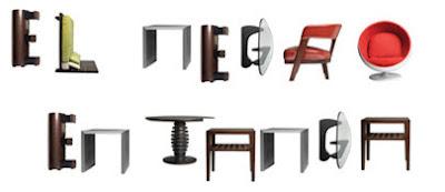 Tipografía de mobilario