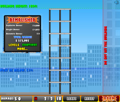 Juego Online: Demolition City