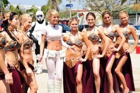 Sueño Geek: El lavadero de autos de la Princesa Leia