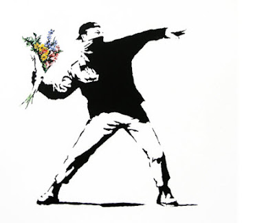 Banksy: Graffitis con sello inglés
