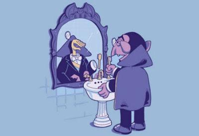 Los vampiros no se reflejan en el espejo