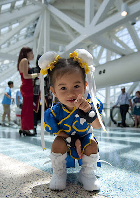 La Chun-Li más adorable del mundo