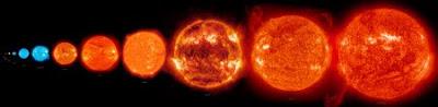 El sol como un pixel