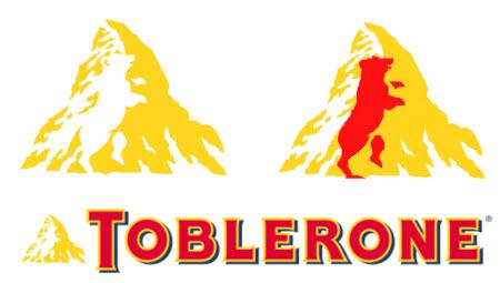 El logo de Toblerone