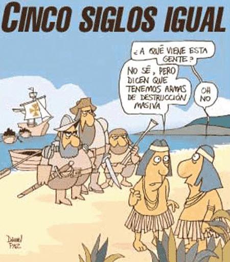 Humor 12 de Octubre: Día de la Raza