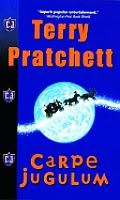 carpe jugulum terry pratchett book review