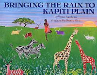 Bringing the Rain to Kapiti Plain book review for Saffron Tree