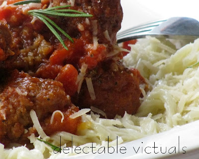 vegetarian meatball sauce home-made pasta easy recipe