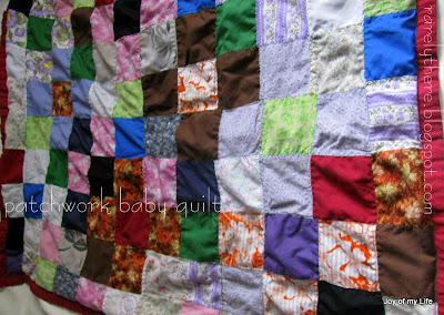 indian patchwork baby quilt from old sarees saris and blouses