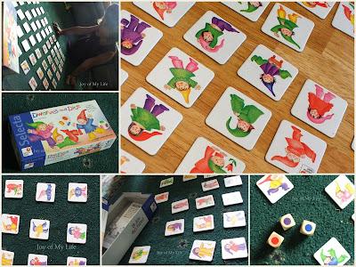 children's games candyland, dwarves and dice