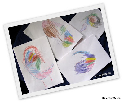 kids pencil colored designs thumbprint caterpillar greeting cards kids art