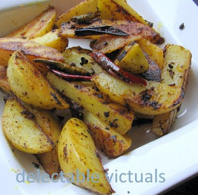 tareko alu potatoes nepalese way easy pan roasted lightly spiced