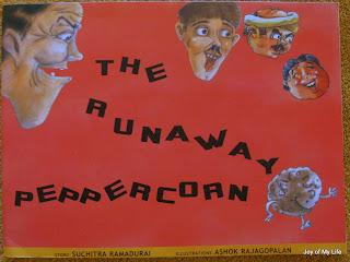 the runaway peppercorn tulika books suchitra ramadurai ashok rajagopalan