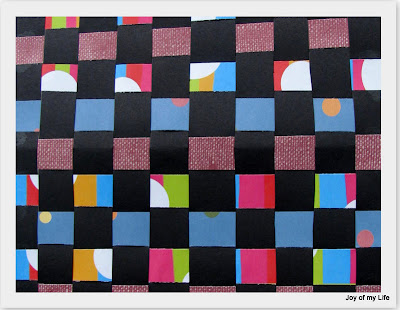 kids paper weaving