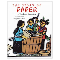 story of paper by Ying Chang Compestine book review Saffron tree