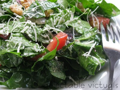 spinach-salad-easy-home-garden
