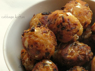 Cabbage Kofta in Creamy Chards Sauce easy indian recipe vegetarian silverbeet
